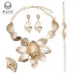 BAUS 2018 Dubai <b>Jewelry</b> Sets Bridal big necklace Nigerian wedding <b>accessories</b> african beads <b>jewelry</b> set for women Costume Design