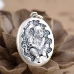 Deer king S990 Sterling Silver Pendant <b>Jewelry</b> Silver <b>Antique</b> Style monkey shape new year of fate