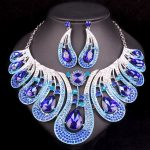 Fashion Bridal <b>Jewelry</b> Sets Wedding Necklace Earrings For Brides Party <b>Accessories</b> Statement Jewellery Costume Decoration Women