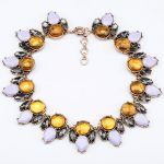 Fashion Design Gorgeous Water Drop Choker Statement Necklaces Pendants for Women with <b>Antique</b> Gold Color Costume <b>Jewelry</b>