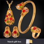 Collare Bridal <b>Jewelry</b> Sets Gold/Silver Color Crystal Bracelet Earrings Necklace Set For Women Wedding <b>Accessories</b> S100