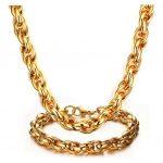 Fashion Stainless Steel Men <b>Jewelry</b> Set Fashion Bracelet Necklace Sets For Male <b>Jewelry</b> Jewellery Jewelery Bijoux <b>Accessory</b> Gift