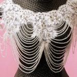 2017 new crystal vintage shoulder chain bridal necklace wedding <b>jewelry</b> wedding <b>accessories</b> vintage pearl <b>jewelry</b> lace necklaces