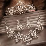 3 Piece/set Bridal <b>Jewelry</b> Necklace Crown Sets Rhinestone Wedding Pearl <b>Jewelry</b> Set Suit Wedding Hair <b>Accessories</b>