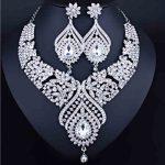 Gorgeous Crystal Dubai Bridal <b>Jewelry</b> Sets Wedding <b>Jewelry</b> <b>Accessories</b> Necklace Earrings for Women Party Pom Pageant <b>Jewelry</b>
