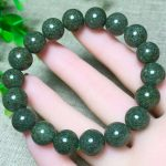 Natural Green Phantom Quartz Bracelet 11-12mm Beads <b>Jewelry</b> <b>Accessories</b> Crystal Bracelets for Men Women Bracelet