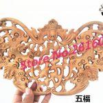 Dongyang wood carving Pendant camphor wood crafts <b>antique</b> <b>jewelry</b> ornaments hanging fan Home Furnishing 20*40 small fan #3309