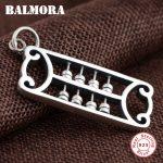 BALMORA 925 Sterling Silver Abacus Pendants for Women Men <b>Accessories</b> Thai Silver Classic Fashion <b>Jewelry</b> High Quality SY13196