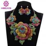 New Bridal <b>Jewelry</b> Sets Wedding Necklace Earrings For Brides Party <b>Accessories</b> New Big Flowers <b>Jewelry</b> Set Women WC002