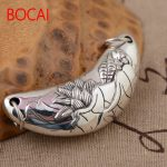 S925 sterling silver pendant <b>jewelry</b> wholesale silver <b>antique</b> style female exquisite pendant NEW