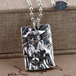 Deer king S950 silver <b>jewelry</b> wholesale <b>Antique</b> Style Mens birthday cartoon characters Pendant