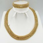 <b>Jewelry</b> Sets For Women Gold Color African Beads <b>Jewelry</b> Set Party <b>Accessories</b> Necklace Earrings Set Wholesale