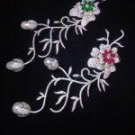real natural fresh water pearl brooch pins 925 <b>sterling</b> <b>silver</b> with cubic zircon flower brooch fashion womne <b>jewelry</b>