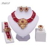 Fani Dubai Gold Color <b>jewelry</b> Set Women Crystal nigerian Wedding Bridal <b>Accessories</b> African Beads <b>Jewelry</b> Set Costume Design