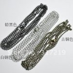 80cm <b>Jewelry</b> chain <b>Antique</b> Bronze/<b>antique</b> silver/Black chain,Alloy/Metal Chain100pcs/lot Free shipping~!