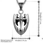 Necklace Fashion <b>Jewelry</b> Bijoux Necklace 18″ <b>Antique</b> Bronze Plated 316L Stainless Steel Necklace N011 Titanium fashion c