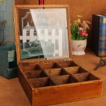 Multi-function Wood Storage Boxes Retro Wooden Boxes <b>Jewelry</b> Cosmetic Case <b>Antique</b> Storage Box For Garden Household