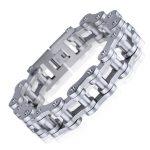 2016 Fashion Bike Chain Bracelet For Women Motorcycle Chain Bracelets Bangles 316L Stainless Steel Cycling <b>Jewelry</b> <b>Accessories</b>