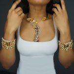 Dvacaman Women Crystal Necklace&Bangle Bridal <b>Jewelry</b> Sets Lady Maxi Pendant&Bracelet Wedding Party <b>Accessories</b> Wholesale AF13