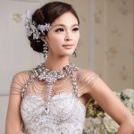 Long Crystal Necklace Chains Vintage Luxury Wedding <b>Jewelry</b> Bridal Shoulder Strap Jewellery Chain <b>Accessories</b> For Women