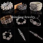 Gorgeous <b>Art</b> <b>Deco</b> Stunning Alloy Pearl Rhinestones Bridal Wedding Stretch Bracelet Crystal Bangle Bridesmaids Women <b>Jewelry</b>