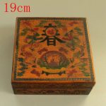 <b>antique</b> old Chinese lacquer painted spring <b>jewelry</b> box / food box 2,hand painted crafts,best collection &Adornment,Free shipping