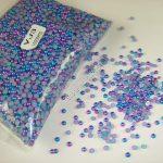 Nail 3MM Blue-Purple Color Half Round Flatback Imitation Pearls 10000PCS for Nail <b>Art</b> Phone <b>Deco</b> <b>Jewelry</b> DIY ABS Gem Beads