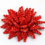 Charming Tomato Red Crystal Beaded Brooch Pins for Brides Wedding Party Dress <b>Jewelry</b> <b>Accessories</b> Brooch Free Shipping BP015