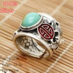 2017 NEW 100% 925 Sterling-Silver-<b>Jewelry</b> Blank Ring Cloisonne Fit 9*11mm Vintage <b>Antique</b> Bronze Base Tray Diy <b>Jewelry</b>