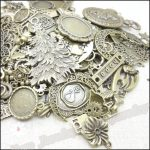 Hot 80-250 pattern Vintage Charms Mixed 240pcs <b>Antique</b> bronze Plated Metal Alloy Pendants DIY <b>Jewelry</b> Findings