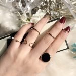Rings For Women 5pcs/Set Vintage Punk <b>Antique</b> Zinc Alloy Gold Color Sliver Color Finger Ring For Women Fashion <b>Jewelry</b> Ring Set
