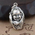 Deer King <b>jewelry</b> line S990 silver matte process <b>Antique</b> retro style Desay boy Silver Pendant