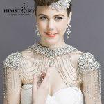 Luxious Vintage Christmas Valentine's Gift Crystal Bridal Necklace Chain Tassel Shoulder Strap Wedding <b>Accessories</b> <b>Jewelry</b>