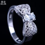 Solid 10k White Gold Engagement Classic Genuine Peridot Ring <b>Art</b> <b>Deco</b> Vintage Wedding Gemstone Natural Diamond Ring Fine <b>Jewelry</b>