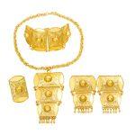 Dubai Creative Design 24 Gold <b>Jewelry</b> Sets Bridal Wedding Necklace Bracelet Earrings Exquisite Gift <b>Jewelry</b> <b>Accessories</b>