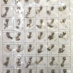 Batch 100sets Charm <b>jewelry</b> <b>Antique</b> Silver Tone spacer beads 10-20mm flower connetor finding