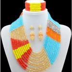 Fashion nigerian wedding african beads for Party african beads <b>jewelry</b> set <b>Jewelry</b> Sets wedding <b>accessories</b>