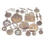 The new combination of set clocks and clocks pointer retro DIY handmade alloy <b>jewelry</b> accessories Fuk bag 20