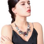 Multicolor Floral Resin Cluster Women Statement Necklace Fashion Party <b>Jewelry</b> Boho Bib Collar Necklace <b>Accessories</b>