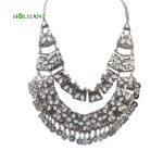 Women vintage roman big Hollow necklaces & pendants bohemia <b>antique</b> gothic tribal statement choker bijoux collier femme <b>jewelry</b>