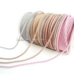 About the Fit 1mm Milan Silk Cord 25M/Roll Beading Crafting Woven Lace <b>Jewelry</b> and Clothing <b>Accessories</b> Bracelet Necklace Making