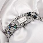 New TIME100 Retro Women Watch Bracelet <b>Jewelry</b> Clasp Alloy Strap Shell Dial Quartz Wrist Watch For Women mujer orologio da polso