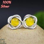 100% 925 Sterling Silver Earrings Blank <b>Jewelry</b> with Fit 7*9mm <b>Antique</b> Bronze Base Tray for diy Earrings