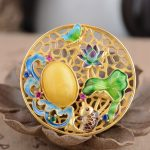 Deer King <b>jewelry</b> pendant S925 Sterling Silver Pendant beeswax <b>antique</b> craft Shaolan year after year female models