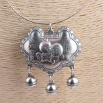 Deer King <b>jewelry</b> wholesale silver S990 fine silver female auspicious pendant <b>antique</b> style lock