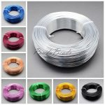 2mm 50m/roll HOT Sale New Aluminum Wire Soft Nice for <b>Jewelry</b> DIY Making <b>Jewelry</b> <b>Accessories</b> Findings Silver Golden Blue Yellow