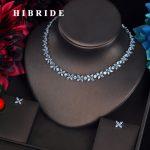 HIBRIDE Romantic Star Shape Bridal <b>Jewelry</b> Sets Women <b>Accessories</b> Cubic Zirocnia Stone Necklace Set <b>Jewelry</b> N-610