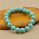 Wholesale 5A Fashion Nature Amazonite Amazon Stone Beads Charm Bracelets & Bangles for Men Women Crystal <b>Accessories</b> <b>Jewelry</b>