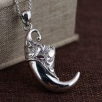 Deer King <b>jewelry</b> wholesale S925 Sterling Silver Pendant <b>antique</b> craft new fashion personality big gift