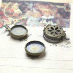 50pcs 14mm,16mm Round Brooches <b>Antique</b> Bronze vintage cabochon pin base blank setting handmade <b>jewelry</b>